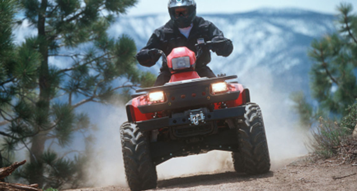 atv covered with insurance