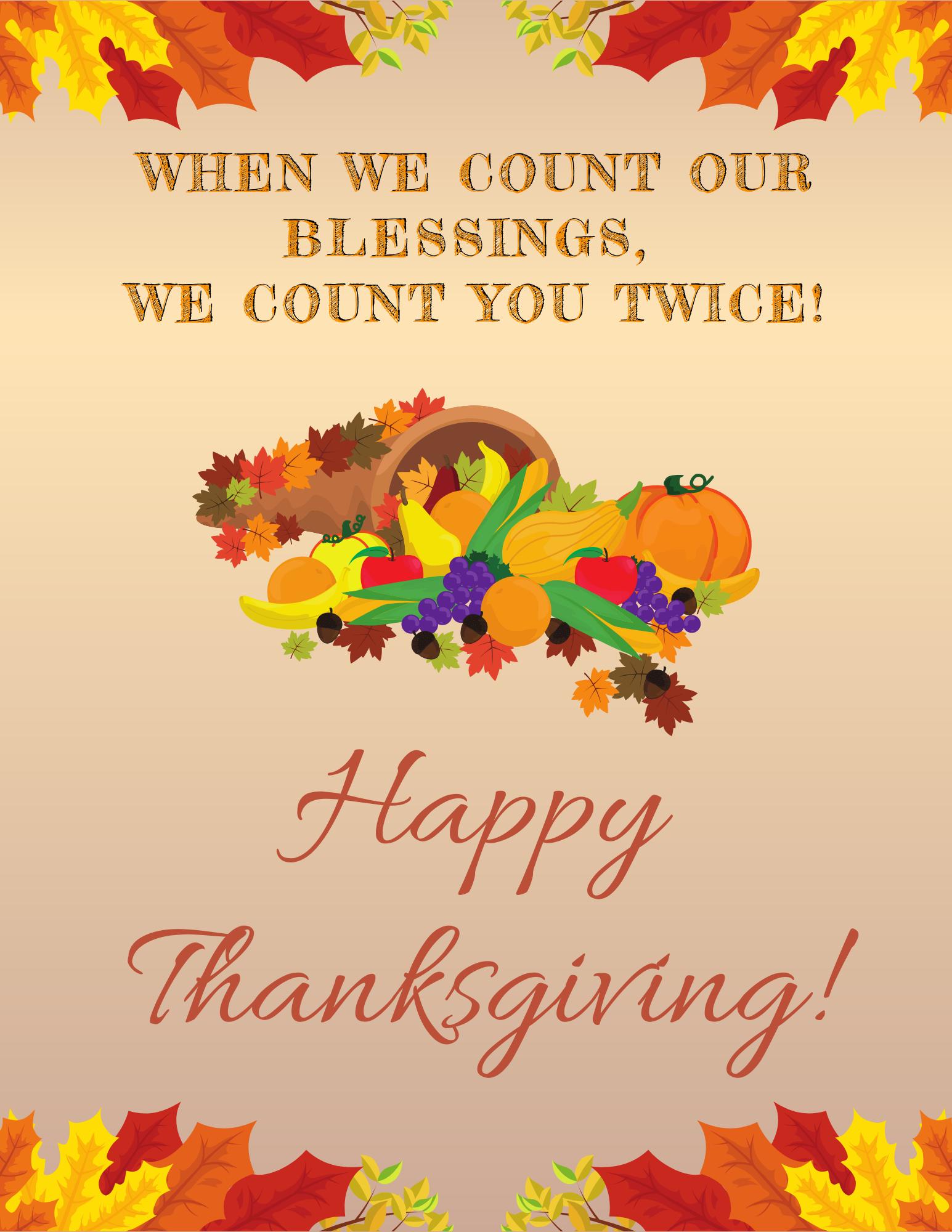 Happy Thanksgiving Mki