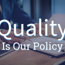 quality is our policy